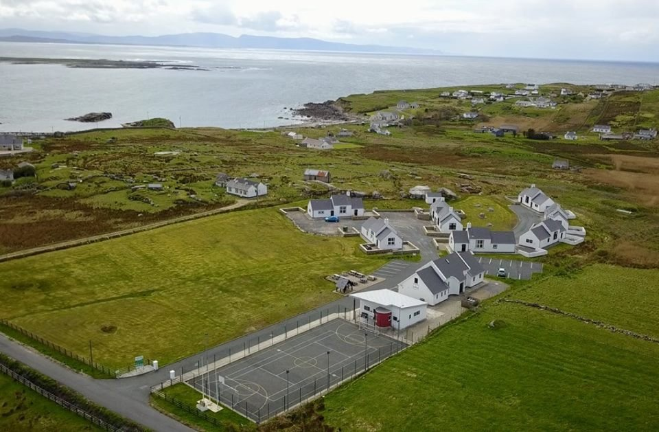The holiday village in Arranmore