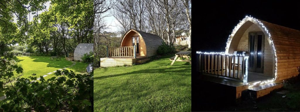 Glamping options in Arranmore